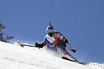 March 27, 2012:  Ralph Green skis in the downhill competition at the U.S. Adaptive Alpine National Championships at the Racer's Edge course in Aspen, Colorado.