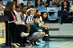 22 January 2017: Notre Dame head coach Muffet McGraw. The University of North Carolina Tar Heels hosted the University of Notre Dame Fighting Irish at Carmichael Arena in Chapel Hill, North Carolina in a 2016-17 NCAA Division I Women's Basketball game. Notre Dame won the game 77-55