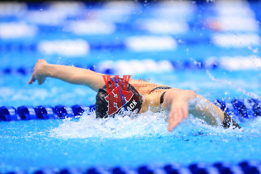 The University of Minnesota women's swimming and diving team compete at the 2017 NCAA National Swimming and Diving Championships in Indianapolis, IN. March 16, 2017<br /> (Photo by Walt Middleton Photography 2017)