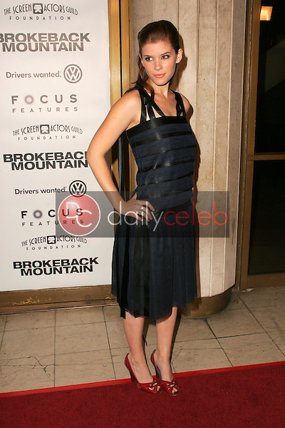 """Kate Mara<br />at the premiere of """"Brokeback Mountain"""". Mann National Theatre, Westwood, CA. 11-29-05<br />Dave Edwards/DailyCeleb.com 818-249-4998"""