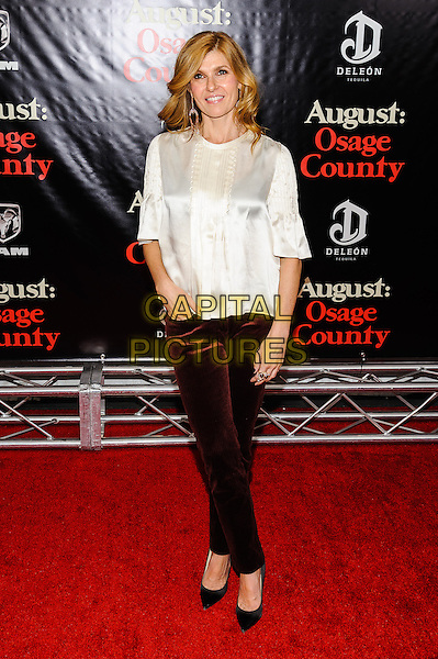 12 December 2013 - New York, New York- Connie Britton. New York Premiere of &quot;August: Osage County&quot; at The Ziegfeld Theater. <br /> CAP/ADM/MSA<br /> &copy;Mario Santoro/AdMedia/Capital Pictures