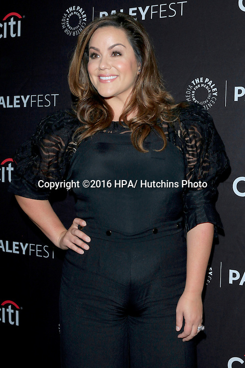 LOS ANGELES - SEP 10:  Katy Mixon at the PaleyFest 2016 Fall TV Preview - ABC at the Paley Center For Media on September 10, 2016 in Beverly Hills, CA