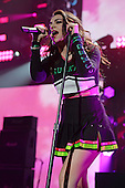 SUNRISE, FL - DECEMBER 21: Charli XCX performs during the Y100's Jingle Ball 2014 at BB&T Center on December 21, 2014 in Miami, Florida. Credit Larry Marano (C) 2014
