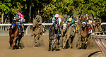August 24, 2019 : Code of Honor #2, ridden by John Velazquez, swings wide on the turn en route to winning the Travers Stakes during Travers Stakes Day at Saratoga Racecourse in Saratoga Springs, New York. Dan Heary/Eclipse Sportswire/CSM