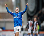 03.11.18 St Mirren v Rangers: Andy Halliday at full time