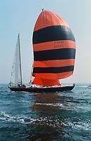 Pen Duick VI, départ de la course autour du monde 1973