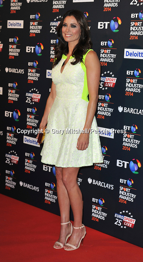 Mel Sykes attends the BT Sport Industry Awards at Battersea Evolution on May 8, 2014 in London, England