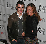 Kevin Jonas and Dani Jonas  Attend The 2012 Skating with the Stars honoring Vera Wang, Ellen Lowey, and Rhonda Ross: A benefit gala for Figure Skating in Harlem, Held at Wollman Rink, Central Park, NY  4/2/12