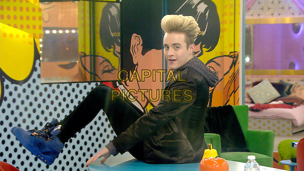 Celebrity Big Brother 2017<br /> Edward Grimes<br /> *Editorial Use Only*<br /> CAP/KFS<br /> Image supplied by Capital Pictures