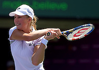 Ekaterina Makarova (RUS) against Agnieska RADWANSKA (POL) in the first round of the women's singles. Radwanska beat Makarova 7-5 6-0..International Tennis - 2010 ATP World Tour - Sony Ericsson Open - Crandon Park Tennis Center - Key Biscayne - Miami - Florida - USA - Thurs  25 Mar 2010..© Frey - Amn Images, Level 1, Barry House, 20-22 Worple Road, London, SW19 4DH, UK .Tel - +44 20 8947 0100.Fax -+44 20 8947 0117