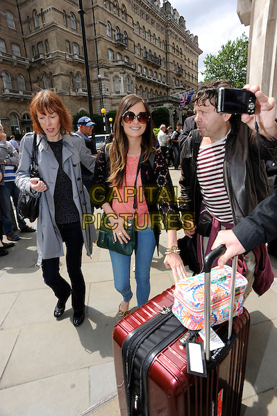 LONDON, ENGLAND-JUNE 27: Kacey Musgraves leaving BBC Radio Broadcasting House, London, England, 27th June 2014.<br /> CAP/IA<br /> &copy;Ian Allis/Capital Pictures