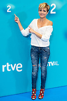Tv Host Sara Escudero attends to presentation of new season of 'La 2' FestVal in Vitoria, Spain. September 04, 2018. (ALTERPHOTOS/Borja B.Hojas) /NortePhoto.com NORTEPHOTOMEXICO