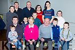 Betty Griffin, Keel who celebrated her birthday with her family in the Anvil bar keel on Sunday front row l-r: Conor, Michael, Betty Michael, PJ and Gene Griffin. Back row: Marie, Philip, David, Tony, Shay, Ellen Yvonne and Lucy Griffin