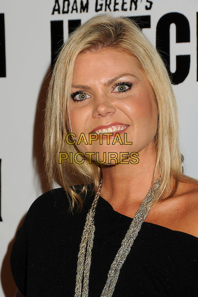 "KIM KENDALL .""Hatchet II"" Los Angeles Premiere held at Grauman's Egyptian Theatre, Hollywood, California, USA, .28th September 2010..portrait headshot necklace black off the shoulder .CAP/ADM/BP.©Byron Purvis/AdMedia/Capital Pictures."