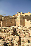 A royal structure from the First Temple period, destroyed in the babylonian conquest in 586 BC, at the Jerusalem Archaeological Park