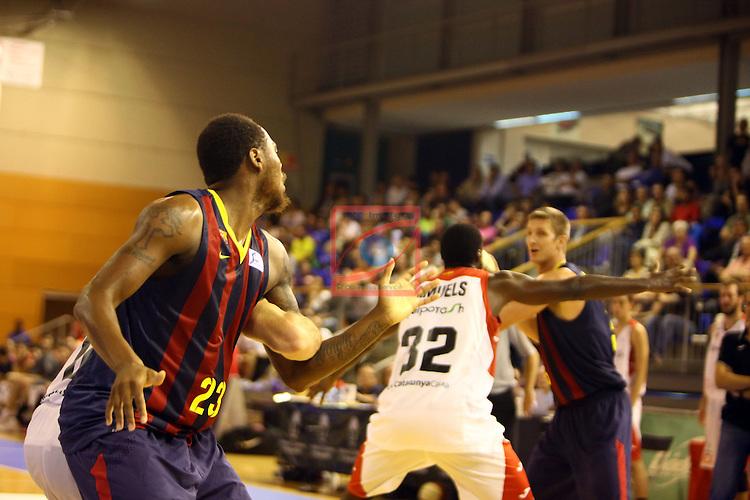 Regal XXXV Llia Nacional Catalana ACB 2014-Semifinals.<br /> FC Barcelona vs La Bruixa d'Or Manresa: 82-66.