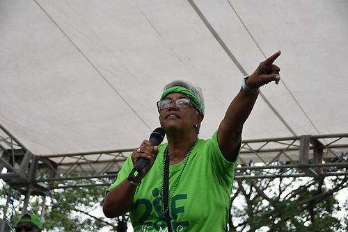 La periodista Altagracia Salazar/Foto: Edgar Hernández/Acento.com.do