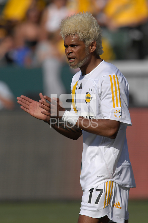 Abel Xavier. The Los Angeles Galaxy defeated Real Salt Lake, 3-2, at the Home Depot Center in Carson, CA on Sunday, June 17, 2007.