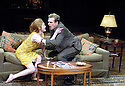 Who's Afraid of Virginia Woolf by Edward Albee directed by Anthony Page With Mireille Enos,David Harbour. Opens at the Apollo Theatre on 31/1/06. CREDIT Geraint Lewis