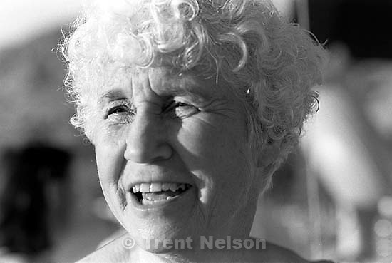 Betty Rae Watts at Betty Rae Watt's birthday party at Seven Peaks water park.<br />