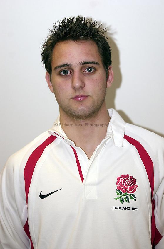 England Under 21's..Photo. Richard Lane..14-2-2002.Jon Goodridge.