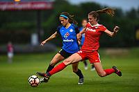 Boyds, MD - Saturday May 20, 2017: Shea Groom, Alyssa Kleiner during a regular season National Women's Soccer League (NWSL) match between the Washington Spirit and FC Kansas City at Maureen Hendricks Field, Maryland SoccerPlex.