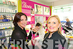 MAKING UP WITH LIBERTA: Meave Keegan, Tralee, getting a Vita Liberata makeup consultancy at the Ashe Street Pharmacy on Wednesday. The Ashe Street Pharmacy is supplying 1,600 Vita Liberata goodie bags for the Rose of Tralee Fashion Show this Sunday.