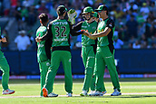 10th February 2019, Melbourne Cricket Ground, Melbourne, Australia; Australian Big Bash Cricket, Melbourne Stars versus Sydney Sixers; Melbourne Stars players celebrate a wicket