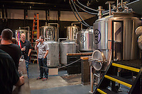 Copyright Justin Cook | July 24, 2013<br /> <br /> The tanks  at Crank Arm Brewery in Raleigh, N.C.
