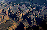 aerial photography grand canyon national park state Arizona colorado river erosion desert