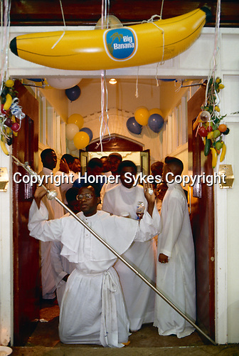 Black Christian church London Uk