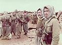 Iraq 1985 <br /> Occupation of an Iraqi military post by the peshmergas in Daban  <br /> Irak 1985 <br /> Occupation d'un poste militaire irakien par les peshmergas apres la bataille de Daban