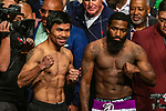 Pacquiao Broner Weigh-in MGM