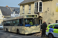 2014 03 26 Bus crash in Pembroke, west Wales