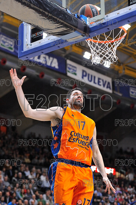 Martínez<br /> Euroleague - 2014/15<br /> Regular season Round 7<br /> Valencia Basket vs Galatasaray