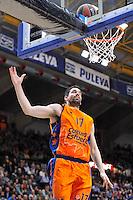 Martínez<br /> Euroleague - 2014/15<br /> Regular season Round 7<br /> Valencia Basket vs Galatasaray
