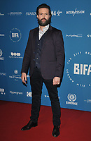 Emmett J. Scanlan at the British Independent Film Awards (BIFA) 2018, Old Billingsgate Market, Lower Thames Street, London, England, UK, on Sunday 02 December 2018.<br /> CAP/CAN<br /> &copy;CAN/Capital Pictures