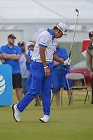 Hideki Matsuyama (JPN) reacts to his tee shot on 2 during round 4 of the AT&T Byron Nelson, Trinity Forest Golf Club, at Dallas, Texas, USA. 5/20/2018.<br /> Picture: Golffile | Ken Murray<br /> <br /> All photo usage must carry mandatory copyright credit (© Golffile | Ken Murray)