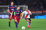 Jordi Alba (Barcelona), <br /> DECEMBER 20, 2015 - Football / Soccer : <br /> FIFA Club World Cup Japan 2015 <br /> Final match between River Plate 0-3 Barcelona  <br /> at Yokohama International Stadium in Kanagawa, Japan.<br /> (Photo by Yohei Osada/AFLO SPORT)