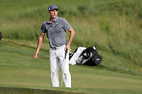 Russell Henley (USA) putts on the 18th hole during the first round of the 118th U.S. Open Championship at Shinnecock Hills Golf Club in Southampton, NY, USA. 14th June 2018.<br /> Picture: Golffile | Brian Spurlock<br /> <br /> <br /> All photo usage must carry mandatory copyright credit (&copy; Golffile | Brian Spurlock)