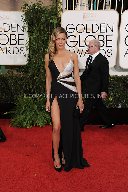 WWW.ACEPIXS.COM<br /> <br /> January 11 2015, LA<br /> <br /> Katie Cassidy arriving at the 72nd Annual Golden Globe Awards at The Beverly Hilton Hotel on January 11, 2015 in Beverly Hills, California.<br /> <br /> <br /> By Line: Peter West/ACE Pictures<br /> <br /> <br /> ACE Pictures, Inc.<br /> tel: 646 769 0430<br /> Email: info@acepixs.com<br /> www.acepixs.com