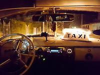 HAVANA-CUBA - 13.10.2016: Interior de taxi em Havana, Cuba.  (Foto: Bete Marques/Brazil Photo Press)