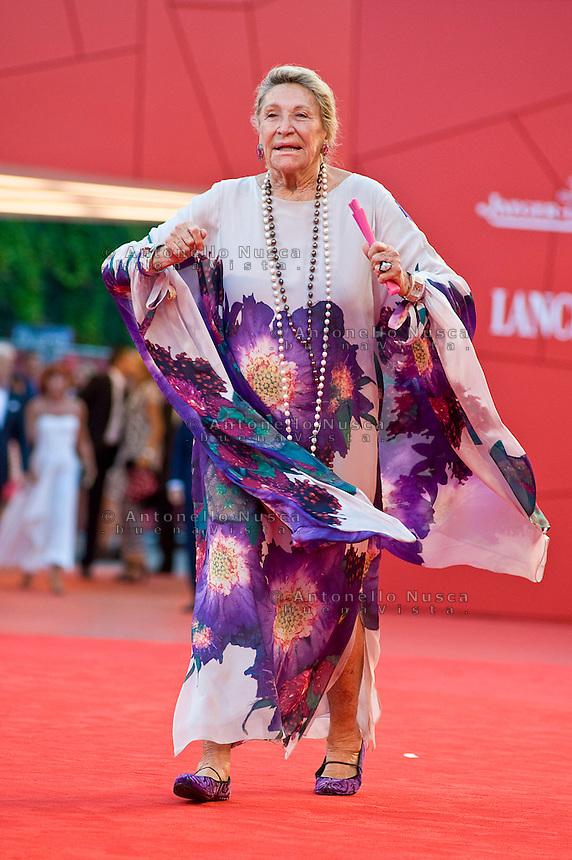 Marta Marzotto al Festival del Cinema