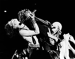 Aerosmith 1984 Steven Tyler and Joe Perry.© Chris Walter.