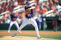 Scott Weismann (Pitcher) Clemson Tigers (Photo by Tony Farlow/Four Seam Images)