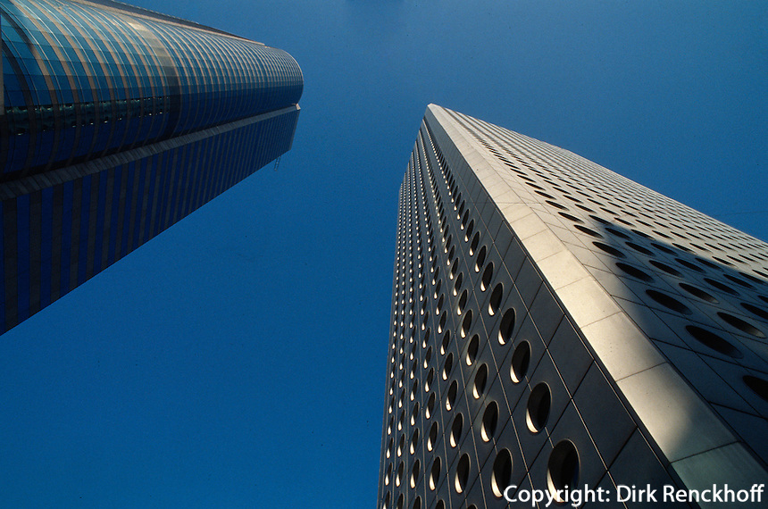 China, Hongkong-Central, Exchange-Square Tower + Jardine-House