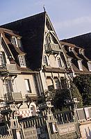 """Europe/France/Normandie/Basse-Normandie/14/Calvados/Deauville: L'hôtel """"Le Normandy"""""""