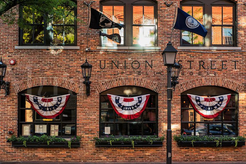 Pub in Old Town, Alexandria, Virginia, USA