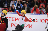 "SHORT TRACK: MOSCOW: Speed Skating Centre ""Krylatskoe"", 14-03-2015, ISU World Short Track Speed Skating Championships 2015, Shaolin Sandor LIU (#129 