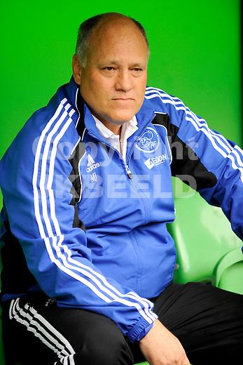 voetbal fc groningen - ajax  eredivisie seizoen 2010-2011 08-08-2010 martin jol